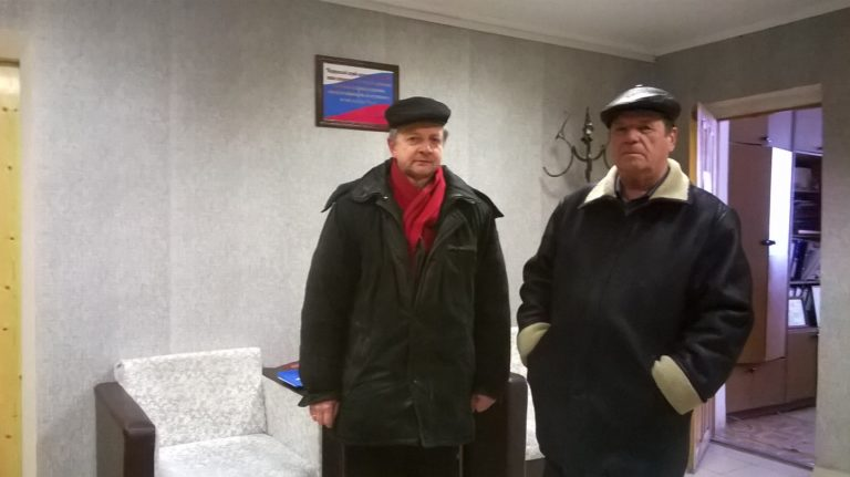 Члены ОНК Михаил Борисов и Станислав Ермилов