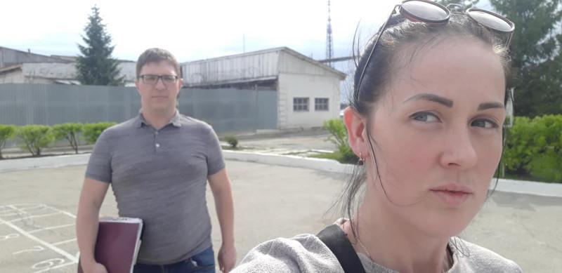 Адвокат Роман Качанов и Яна Гельмель
