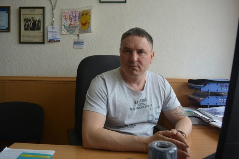 Правозащитник Алексей Соколов. Фото: Иван Жилин / «Новая газета»