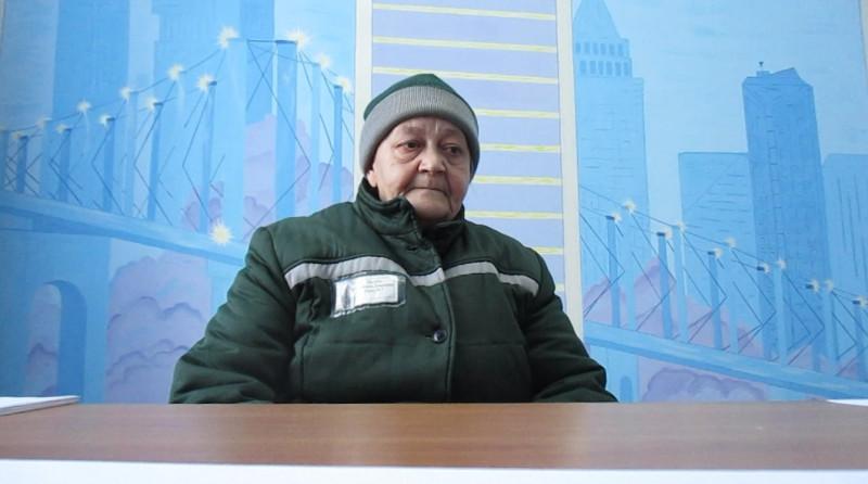 Валентина Партина. Кадр видео