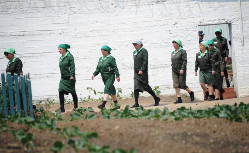 В женской колонии. Фото: РИА Новости