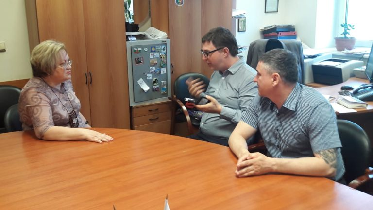 Татьяна Мерзлякова, Роман Качанов и Алексей Соколов