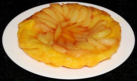 Тарт Татен - перевернутый яблочный пирог