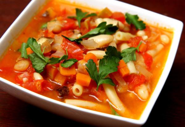 Минестроне - итальянский овощной суп