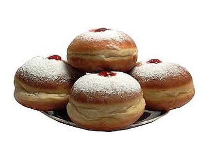 Суфгания - еврейские ханукальные пончики