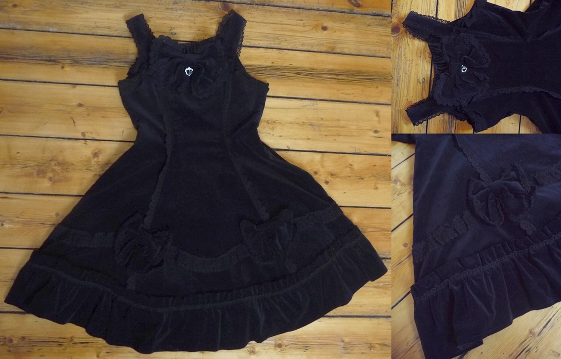 dress btssb velveteen
