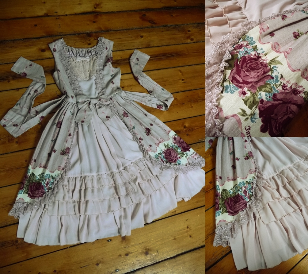 dress iw bertille rose