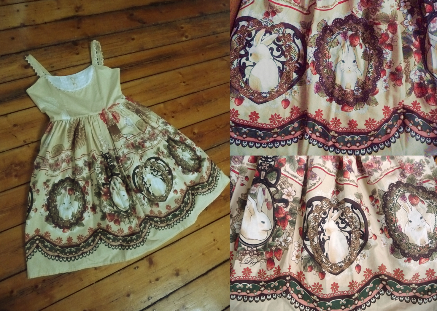 dress lief rabbit heart