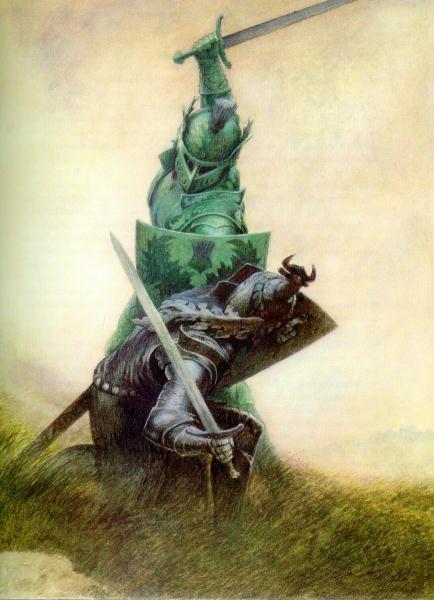 сер Гавейн и Зеленый Рыцарь