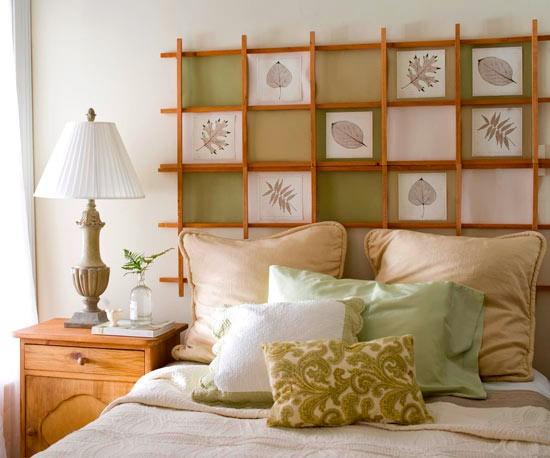 Креативные идеи для дизайна изголовья кровати - МЕББЕР