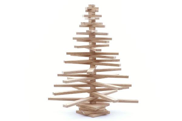 Как сделать ёлку из дерева своими руками