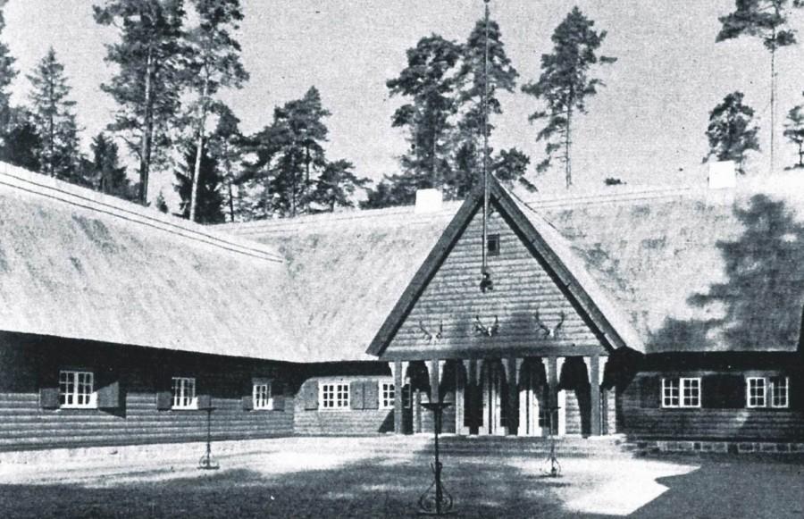 Rominter Heide, Reichsjagerhof 1936