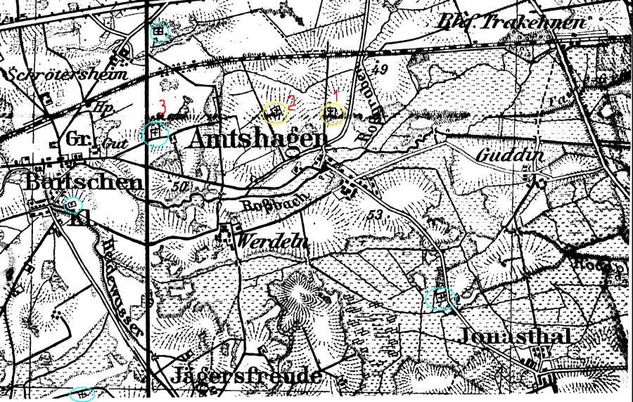 карта Амтсхаген