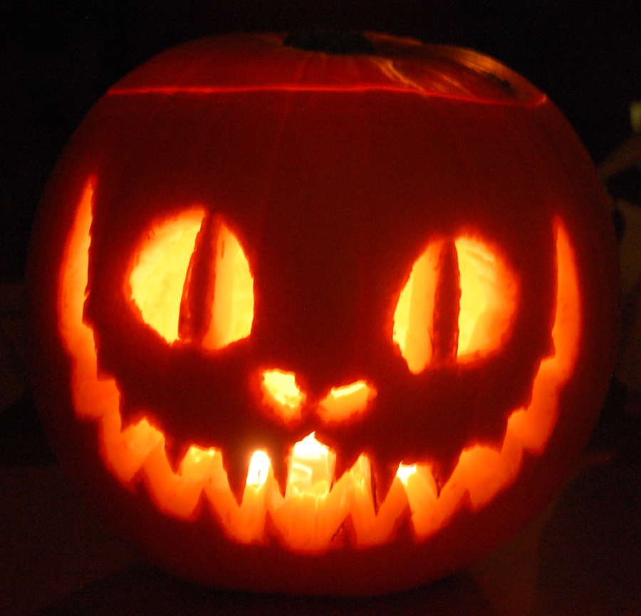 Malice goodness and a purrfect pumpkin there is place