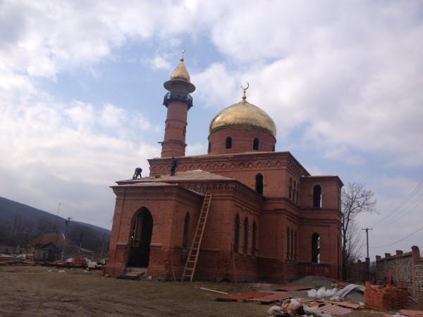 Мечеть с.Эльхотово, Северная Осетия.
