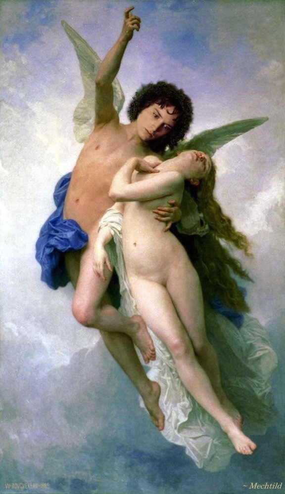 Frodo as Cupid, 1889, looking front