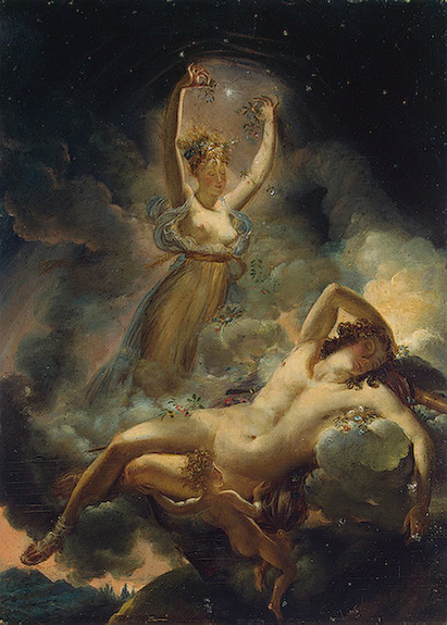 Aurora and Cephalus by Guérin, at the Hermitage, 1811