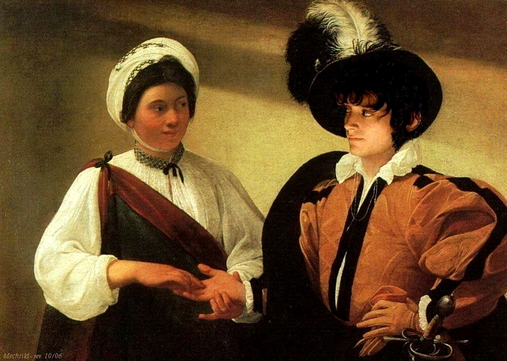 The Fortuneteller, by Caravaggio