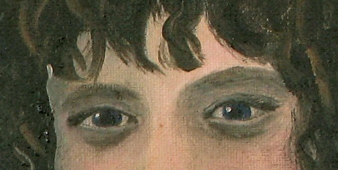 Fairer Than Most - detail of eyes