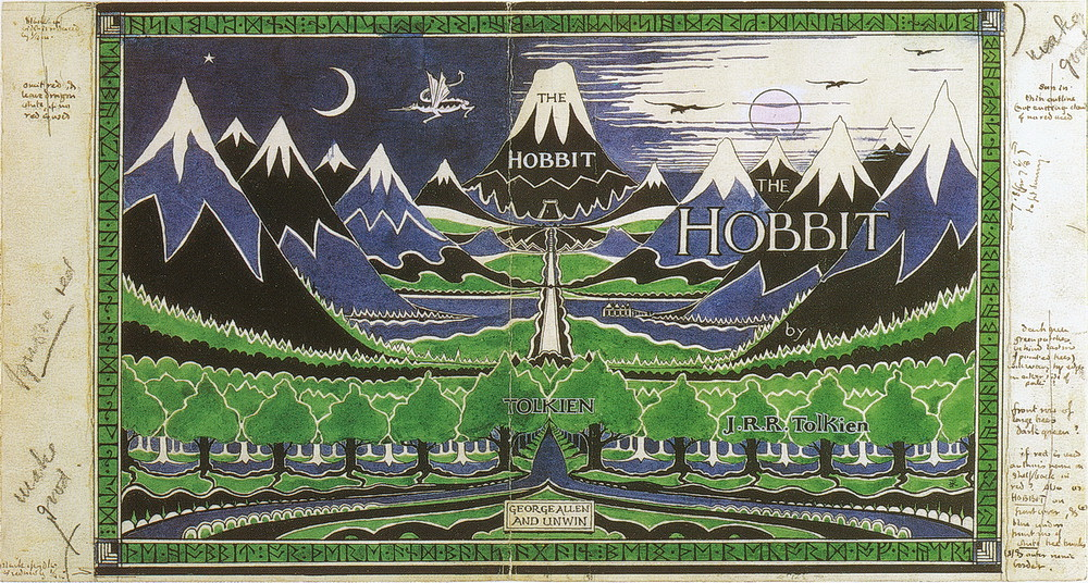 Hobbit Dust-jacket-RED