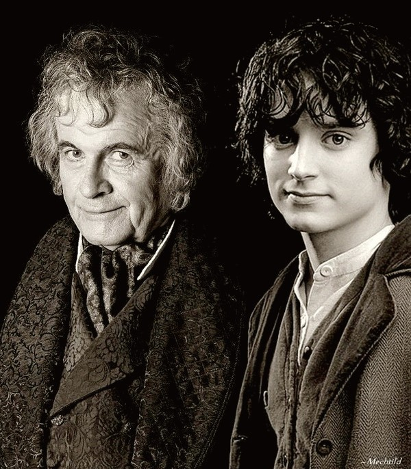Pierre Vinet's Bilbo and Frodo manip, original version
