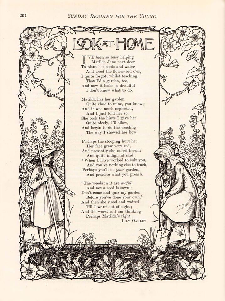 Look at home_by Lily Oakley, published in 'Sunday Reading for the Young' (1906)