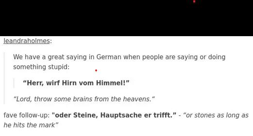 German snip