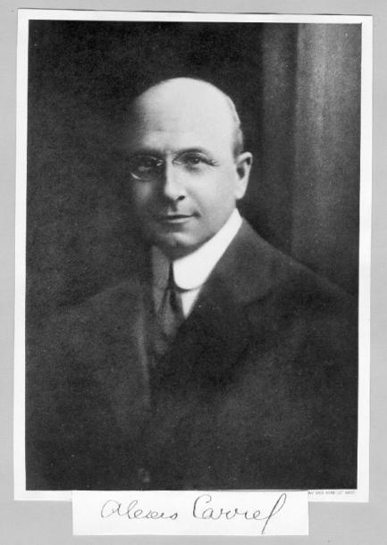 Нобелевские лауреаты: отец сосудистого шва Алексис Каррель