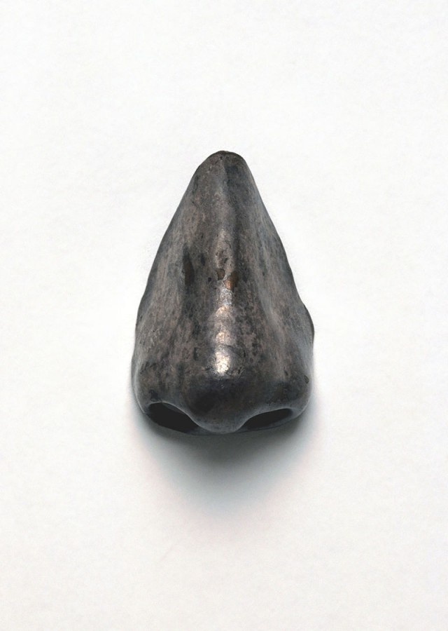 Картинка дня: искусственный нос сифилитика