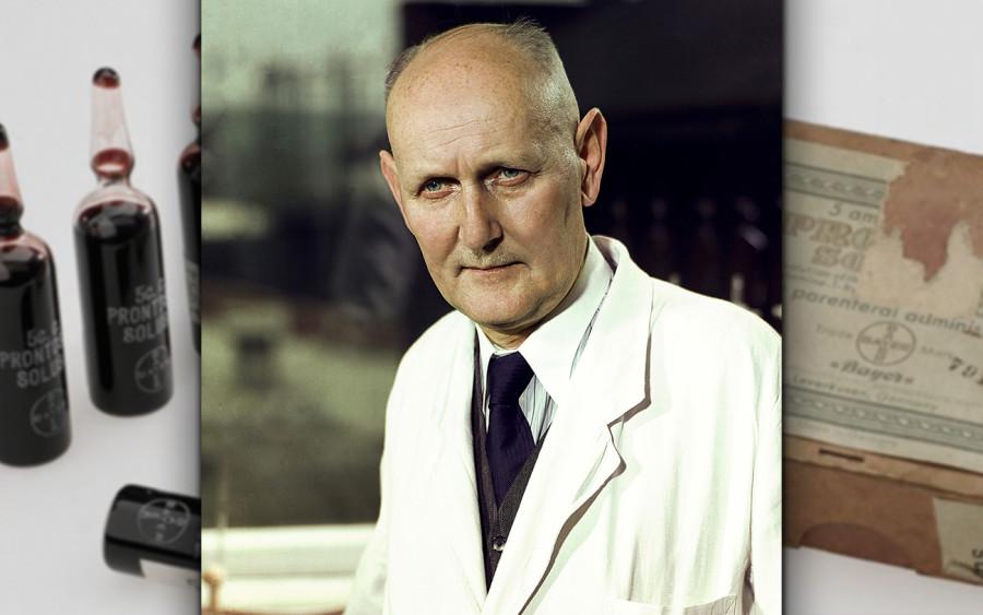 Нобелевские лауреаты: Герхард Домагк. В гестапо за премию