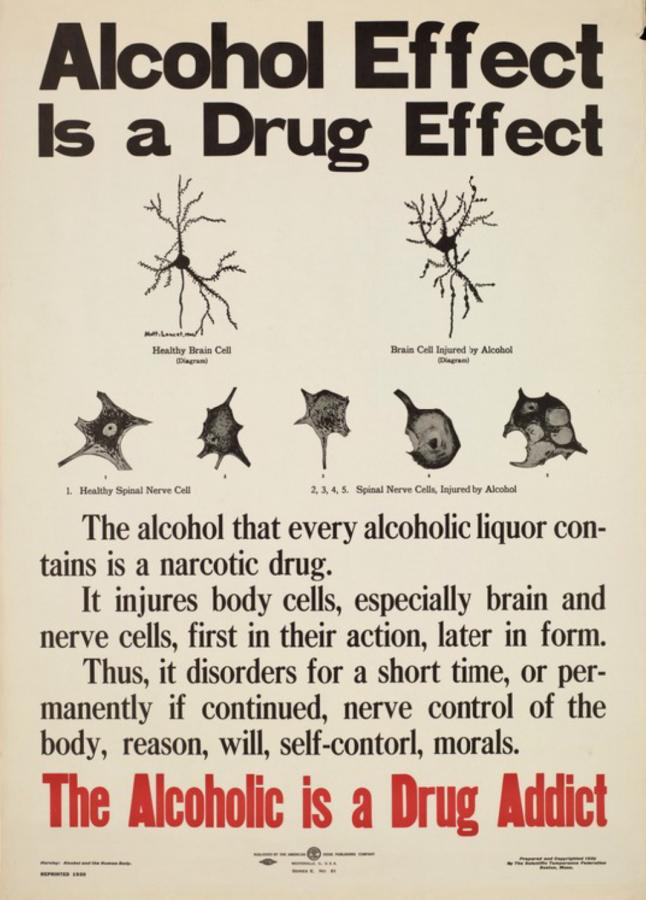 Антиалкогольный нейросанпросвет из 1920-х