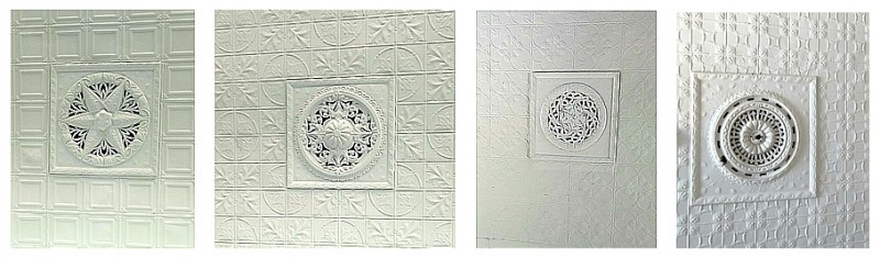 pressed tin ceiling panels
