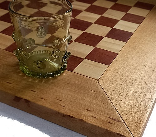 Hand crafted games board