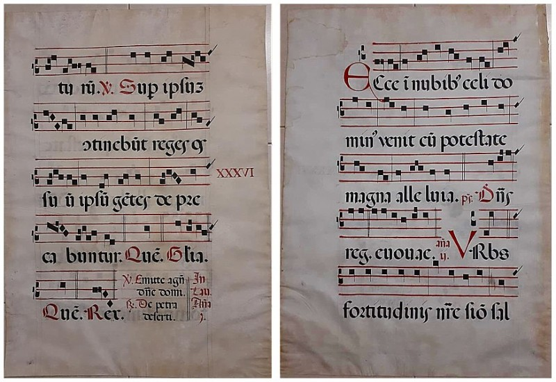 unknown manuscript- antiphony