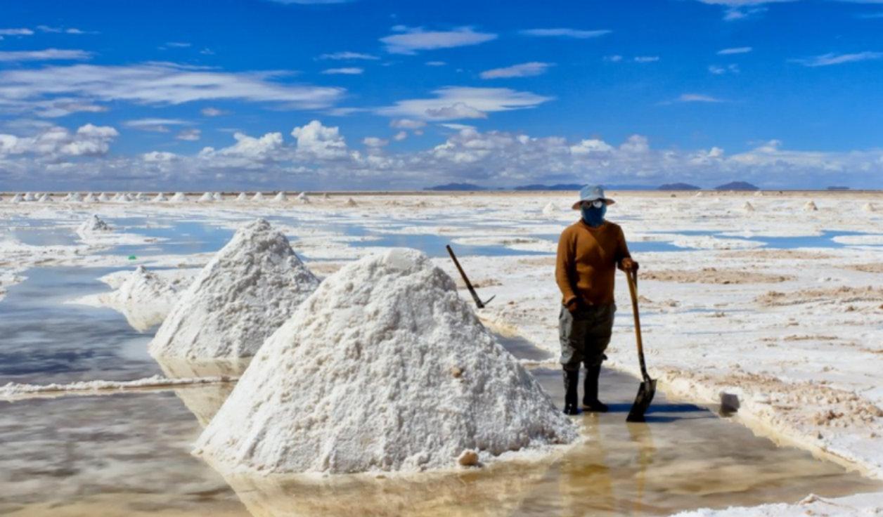 Откуда в море соль?