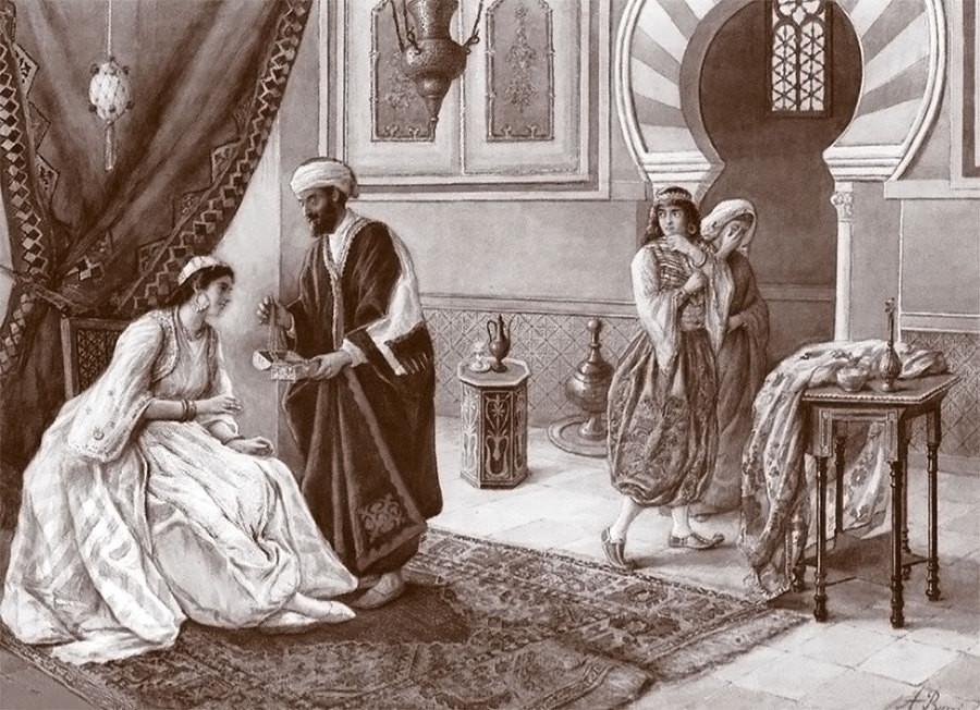 Как одевались во времена султана сулеймана фото