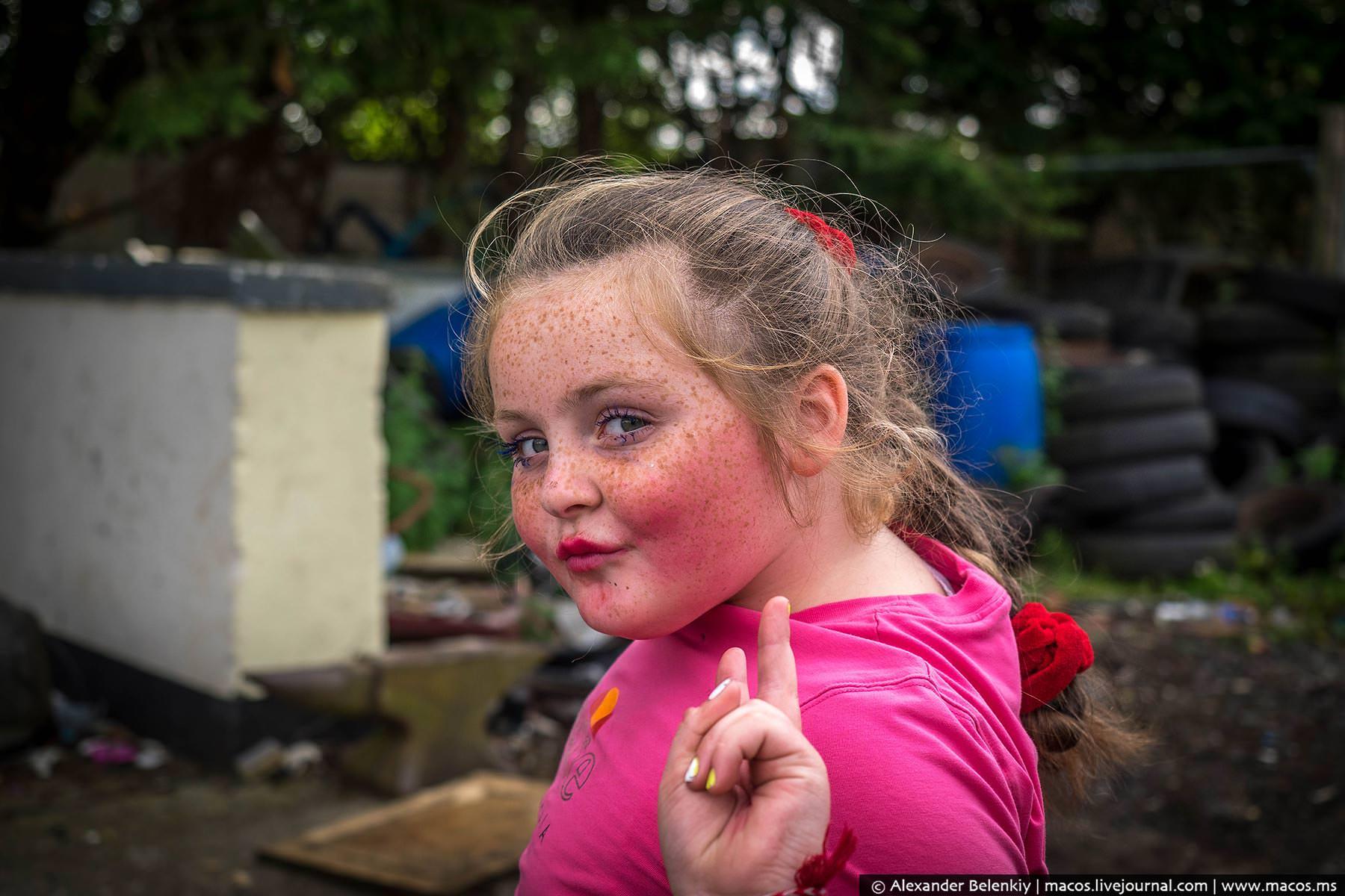 Цыганская девочка блондинка фото 292-926