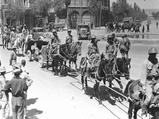 Красная Армия в Тегеране