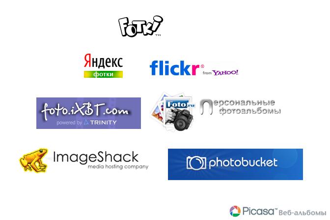 Обзоры фотохостингов как из сайта сделать приложение