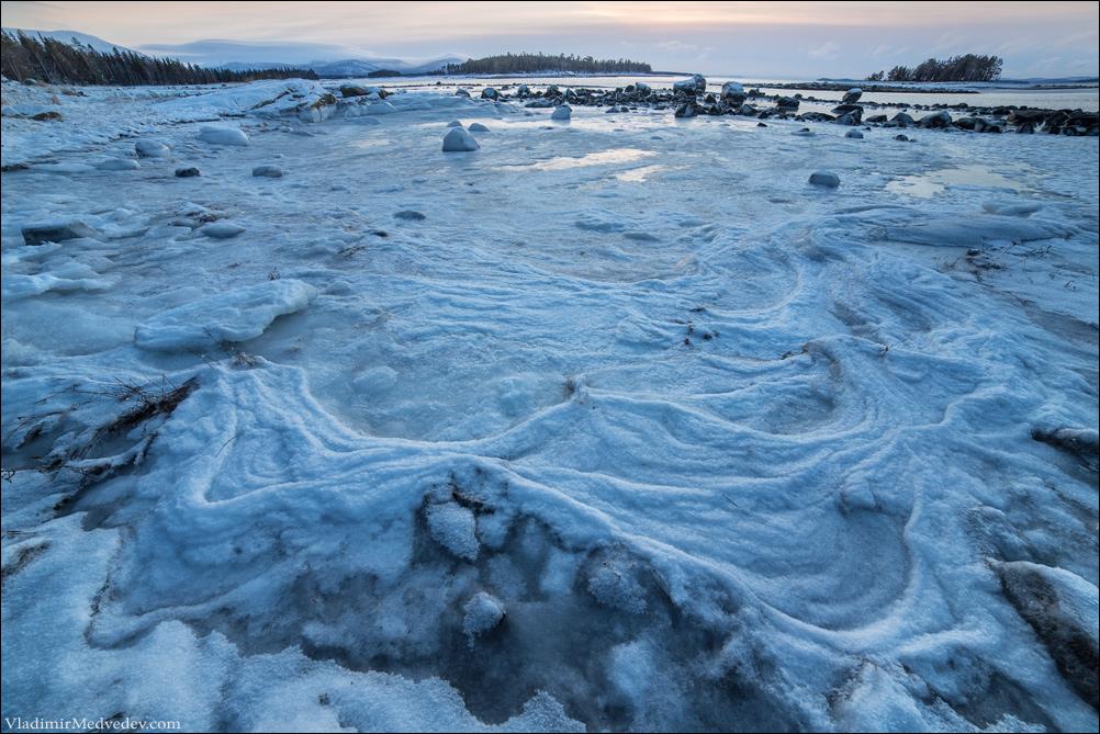 Узоры. Белое море