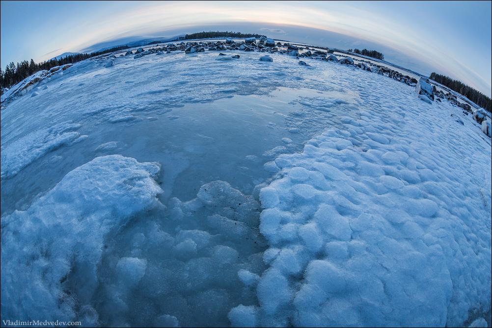 Ледяные узоры. Белое море