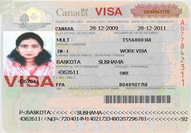 Canada Tourist Visa From India