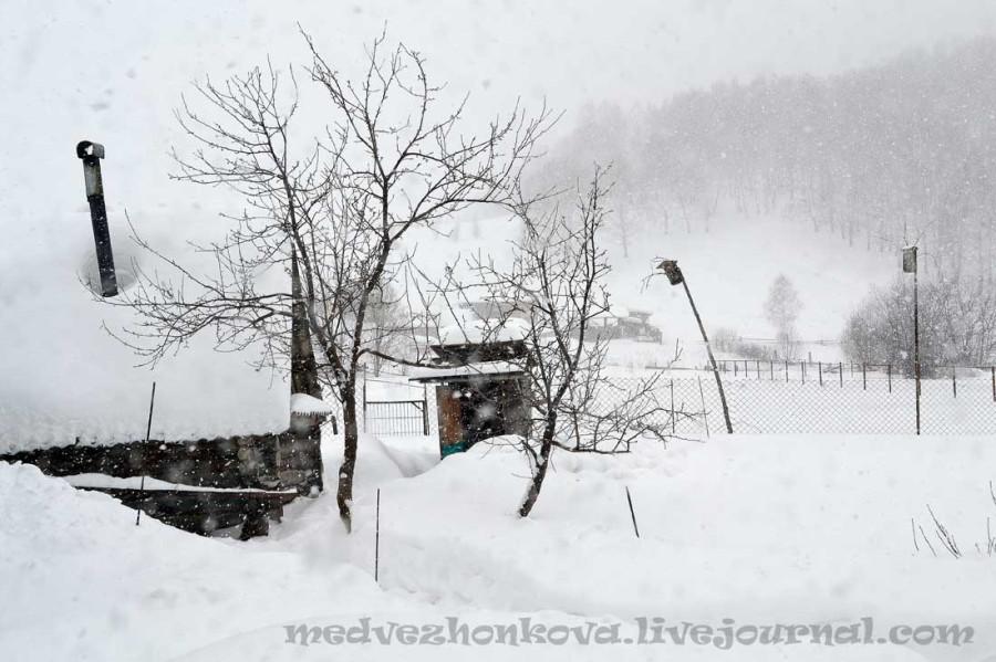 март-снегопад