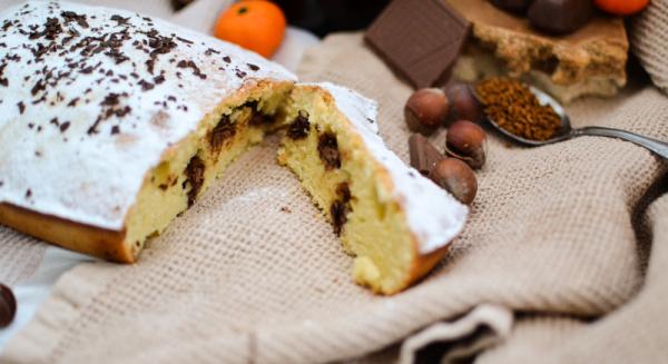 Шоколадный пирог без сливочного масла