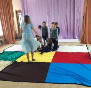 Реквизит Разноцветный танцпол