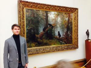 Кирилл Чеширский в Третьяковской галерее