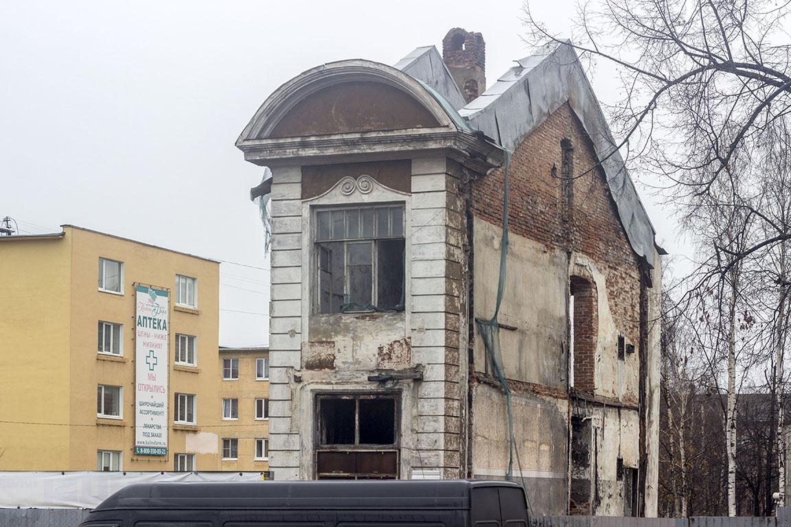Петрозаводск сгоревшая больница