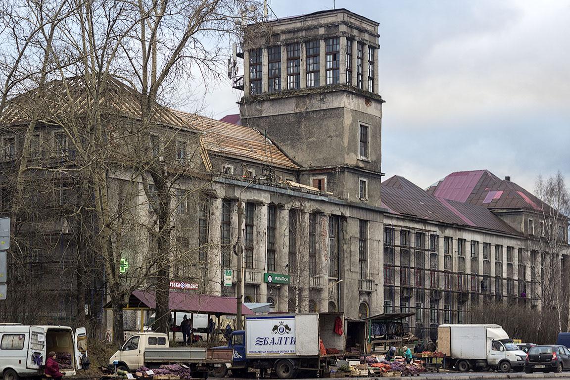 Здание гостиницы управления НКВД