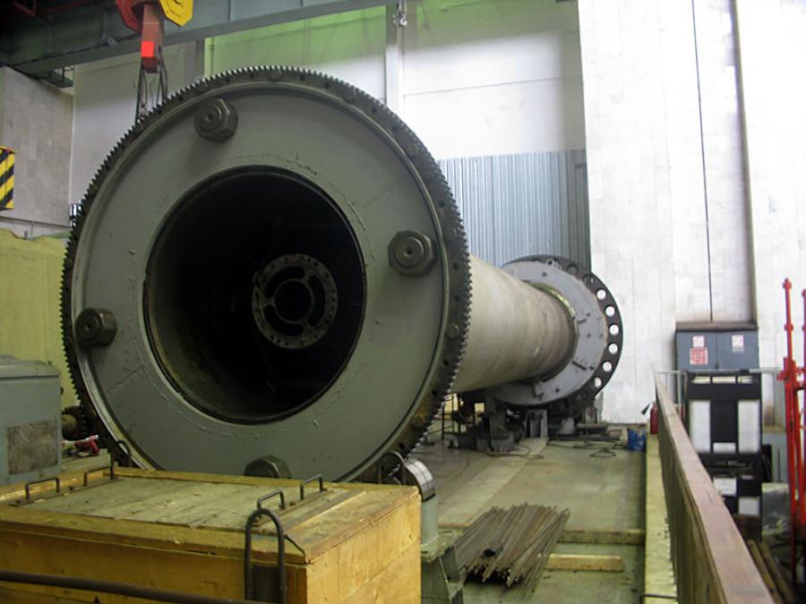 Ось турбины