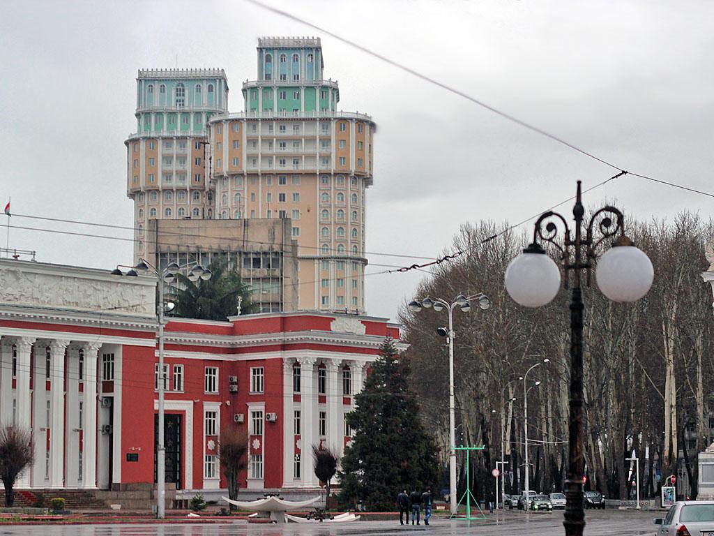 Самые высокие здания в Душанбе